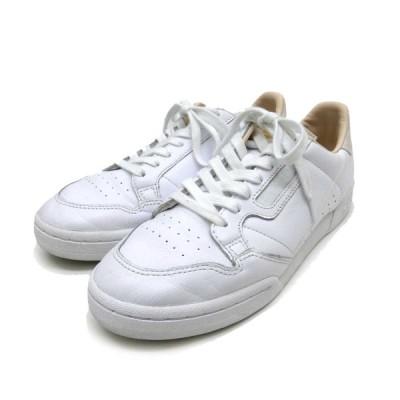 adidas CONTINENTAL 80 スニーカー ホワイト サイズ:26.0 (堅田店) 201126