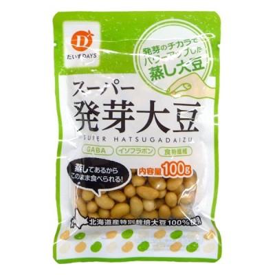 蒸し大豆 スーパー発芽大豆 だいずデイズ 100g