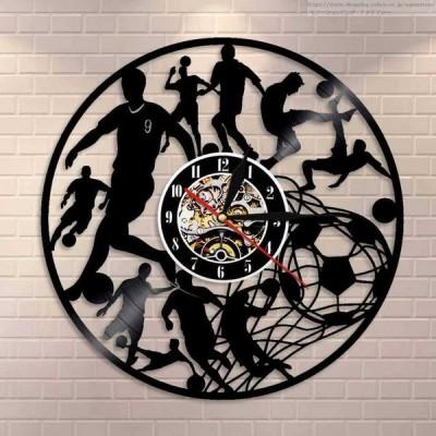 壁掛け時計 サッカー スポーツ おしゃれ モダン 雑貨 壁 掛け時計 ヴィンテージ 30cm
