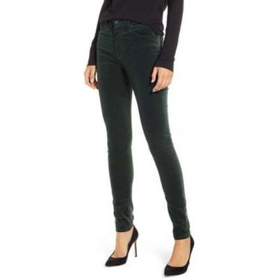 エージー AG レディース ジーンズ・デニム ボトムス・パンツ The Farrah High Waist Velvet Jeans Pine Needle