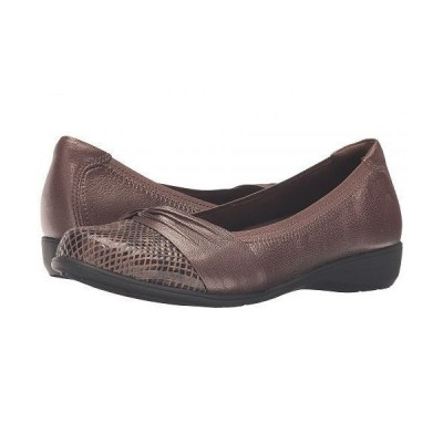 Aravon アラヴォン レディース 女性用 シューズ 靴 フラット Andrea-AR - Bronze