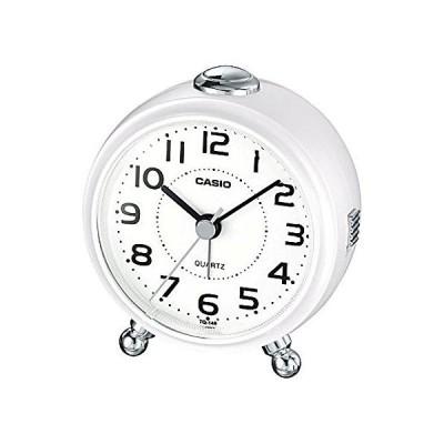 TQ-149-7JF 置き時計・掛け時計 パールホワイト 9.0×8.4×5.5cm
