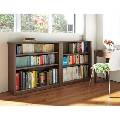 家具 収納 本棚 ラック シェルフ CDラック DVDラック Chasse(シャッセ) ブックシェルフ 幅82奥行30高さ182.5cm H06811