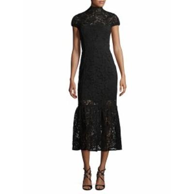 ビクトリアベッカム レディース ワンピース Lace Midi Dress