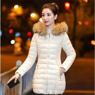 中綿コートレディースロング厚手中綿ジャケットフード付きアウター秋冬防寒防風おしゃれ