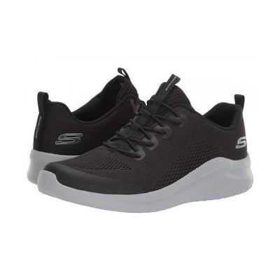 SKECHERS スケッチャーズ メンズ 男性用 シューズ 靴 スニーカー 運動靴 Ultra Flex 2.0 Kelmar - Black/Gray