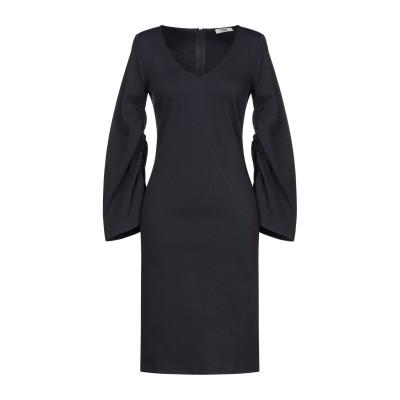 SUOLI ミニワンピース&ドレス ブルー 42 レーヨン 69% / ナイロン 25% / ポリウレタン 6% ミニワンピース&ドレス