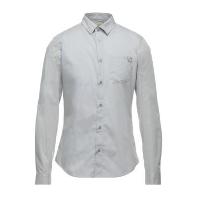 VERSACE JEANS シャツ ライトグレー 48 コットン 100% シャツ