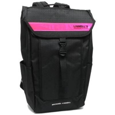 マイケルリンネル メンズ レディース リュック MICHAEL LINNELL ML025 BKP ブラック ピンク