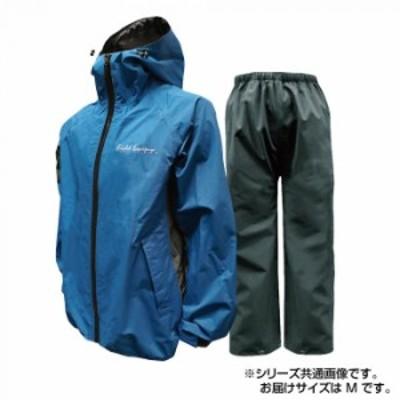 トオケミ レインウェア 7909 カイロスストレッチレインスーツ ブルー M