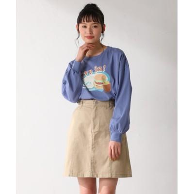(Honeys/ハニーズ)台形スカート/レディース ベージュ