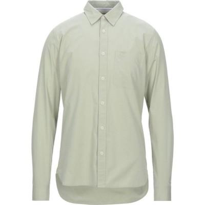 カルバンクライン CALVIN KLEIN JEANS メンズ シャツ トップス Solid Color Shirt Military green