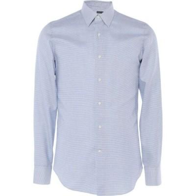 ラフムーア RAF MOORE メンズ シャツ トップス patterned shirt Sky blue