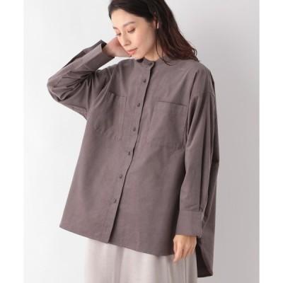 シャツ ブラウス コールバンドカラーシャツ 923965