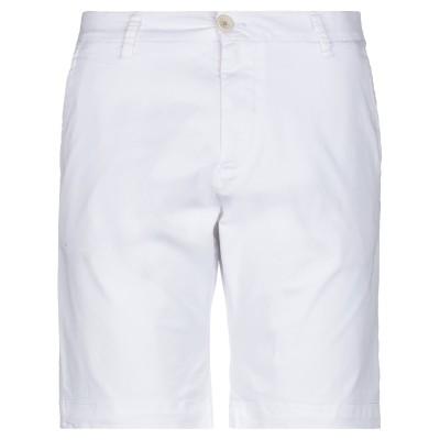 SSEINSE バミューダパンツ ホワイト 44 コットン 98% / ポリウレタン 2% バミューダパンツ