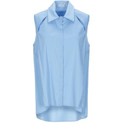 ANGELA MELE MILANO シャツ スカイブルー XS コットン 78% / ナイロン 19% / ポリウレタン 3% シャツ