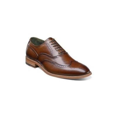 フォーマルシューズ ステーシーアダムス Stacy Adams 25064-221-100M Men's Dunbar Cognac Oxford, 10M Size