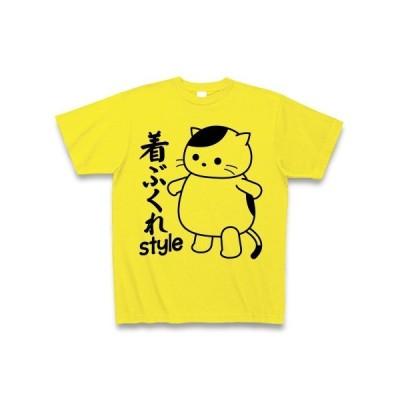 着ぶくれスタイルのねこ Tシャツ(デイジー)