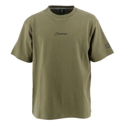 【ギャラリー2】 0S クールネックTシャツ ユニセックス カーキ S GALLERY・2