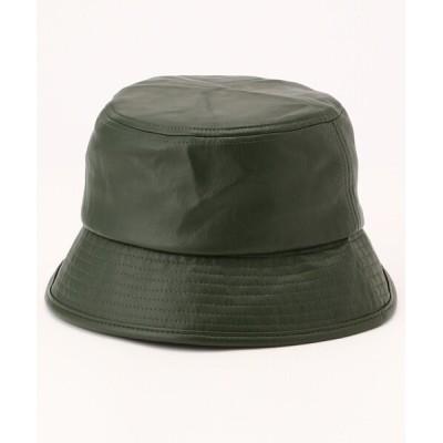 FREAK'S STORE / エコレザーハット(バケットハット) WOMEN 帽子 > ハット