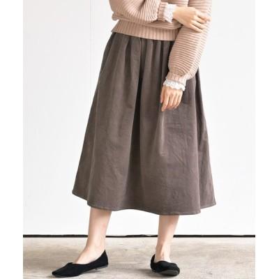rps / ストレッチコーデュロイロングスカート WOMEN スカート > スカート