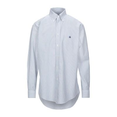 ブルックス ブラザーズ BROOKS BROTHERS シャツ ホワイト S コットン 100% シャツ