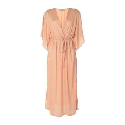 ROSAMUNDA ロングワンピース&ドレス あんず色 M ポリエステル 100% ロングワンピース&ドレス