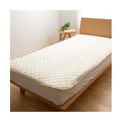 mofuaプレミアムカラーが選べるマイクロファイバー敷パッド 敷きパッド・敷パッド, ベッドパッド, Bed pats(ニッセン、nissen)