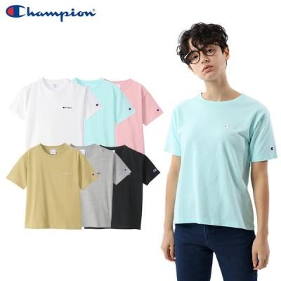 チャンピオン レディース ショート スリーブ Tシャツ 即納 (メール便送料無料) Champion Short sleeve t-shirt