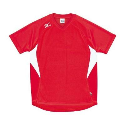 ドッジボール専用 ゲームシャツ ミズノ A62HY-144 レッド×ホワイト MIZUNO JDBA