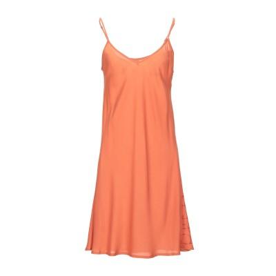 ノリータ NOLITA ミニワンピース&ドレス オレンジ M レーヨン 100% ミニワンピース&ドレス