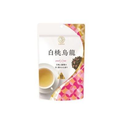 三井農林日東紅茶 遊香茶館 白桃烏龍 ティーバッグ 1袋(10バッグ入)