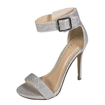 デリシャス レディース パンプス CANTER! Women's Classic Open Toe Ankle Strap Stiletto High Heel Sandals