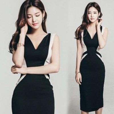 黒 スレンダーライン パーティードレス ワンピースドレス ワンピース ドレスワンピ タイトドレス お呼ばれドレス イブニングドレス 二次