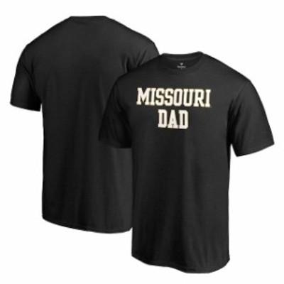Fanatics Branded ファナティクス ブランド スポーツ用品  Fanatics Branded Missouri Tigers Black Team Dad Crewneck T-Shirt