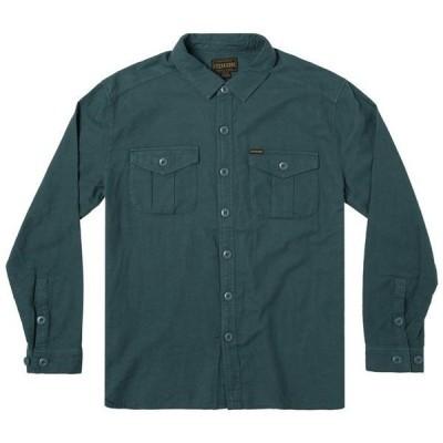 ルーカ メンズ シャツ トップス RVCA x Baker Long-Sleeve Flannel