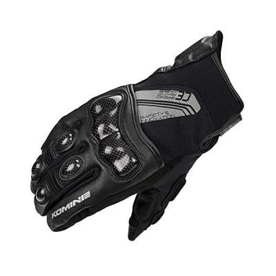 コミネ KOMINE バイク CEカーボンプロテクトショートウインター グローブ 防水 防風 プロテクター 秋 冬 Black/M 06-8