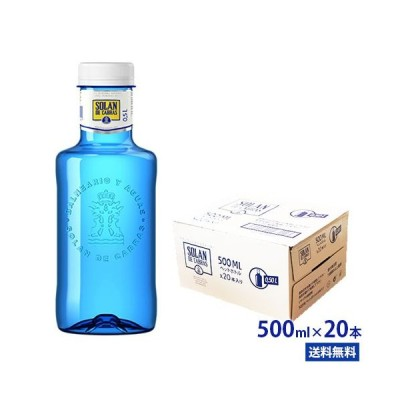 ソラン・デ・カブラス 500ml PET 20本 ブルーボトル SOLAN DE CABRAS ソラデカブラス ミネラルウォーター