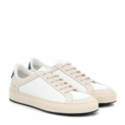 コモン プロジェクト Common Projects レディース スニーカー シューズ・靴 Retro Low 70s leather sneakers White/Navy