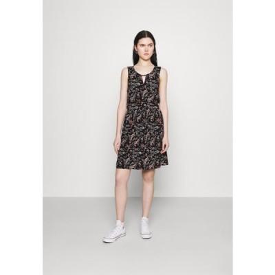 ヴェロモーダ レディース ファッション VMSIMPLY EASY SHORT DRESS - Day dress - black
