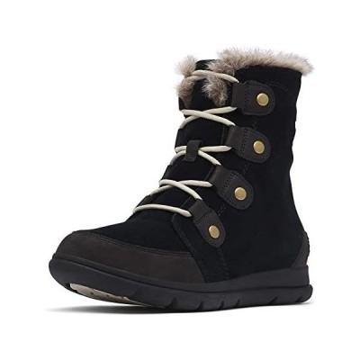 [ソレル] ウインター ショート ブーツ 防水 防寒 スノーブーツ シューズ NL3039 [並行輸入品] (ブラック 24.5 cm)