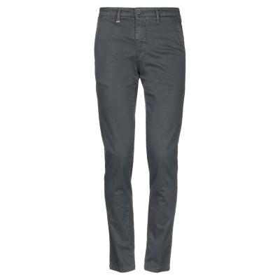 LIU •JO MAN パンツ 鉛色 44 コットン 98% / ポリウレタン 2% パンツ
