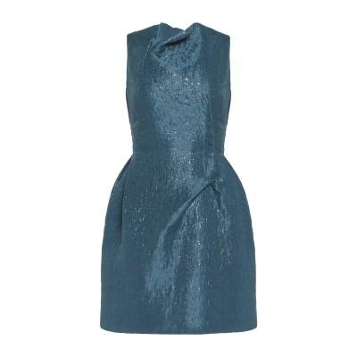 ローラン ムレ ROLAND MOURET ミニワンピース&ドレス ディープジェード 6 ナイロン 60% / シルク 40% ミニワンピース&ドレス