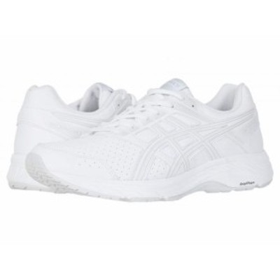 ASICS アシックス メンズ 男性用 シューズ 靴 スニーカー 運動靴 GEL-Contend(R) 5 Walker White/Glacier Grey【送料無料】