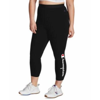 チャンピオン レディース カジュアルパンツ ボトムス Plus Size Authentic 7/8 Leggings Black