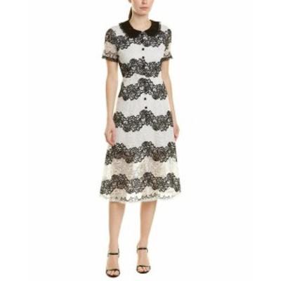 ファッション ドレス Burryco Silk-Blend A-Line Dress