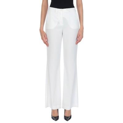HANITA パンツ ホワイト 40 ポリエステル 97% / ポリウレタン 3% パンツ