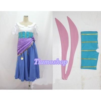 ノートルダムの鐘   エスメラルダ   風 ★コスプレ衣装 完全オーダメイドも対応可能 * K3511