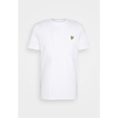ライルアンドスコット Tシャツ メンズ トップス PLAIN - Basic T-shirt - white