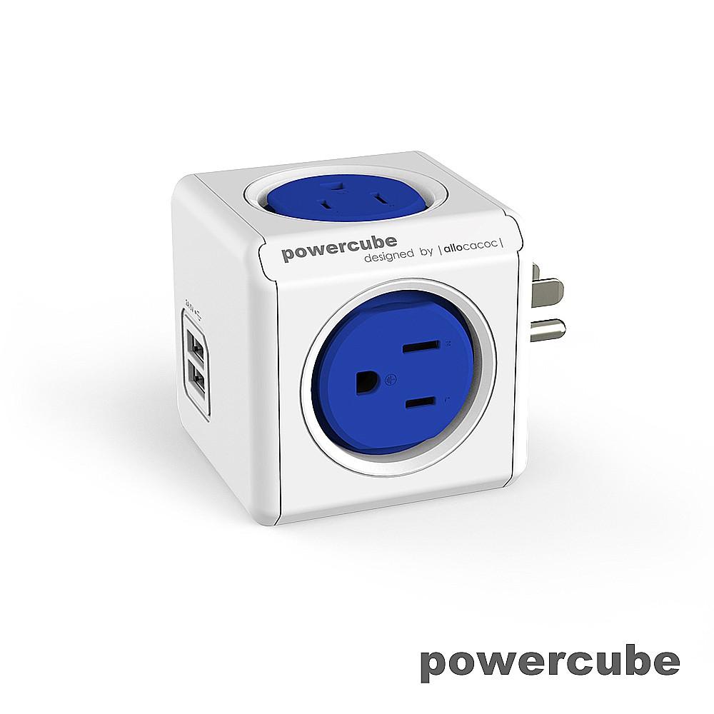 【荷蘭PowerCube】擴充插座 USB兩用《WUZ屋子》原廠貨